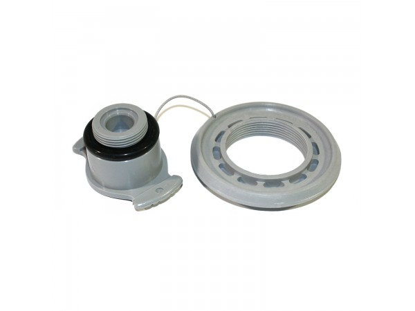Zodiac Recessed Valve Cap - Grey